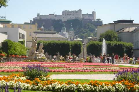 Salzburg Tour: Palace Mirabell, Monk's Hill & More