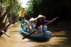 Túneis particulares de Cu Chi e Delta do Mekong: passeio guiado de dia inteiro