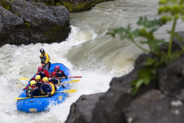 Adrenaline pompende rivierraften: IJsland