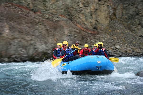 Noord-IJsland Wonderful West: 3-Hour Family River Rafting
