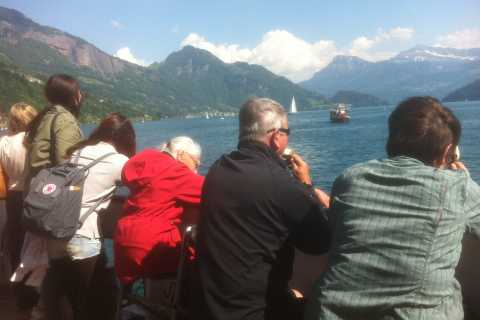 Swiss Army Knife Valley Bike Tour and Lake Lucerne Cruise