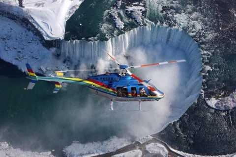 Niagara Falls, Canada: Heli, Boat Ride & Skylon Lunch Tour