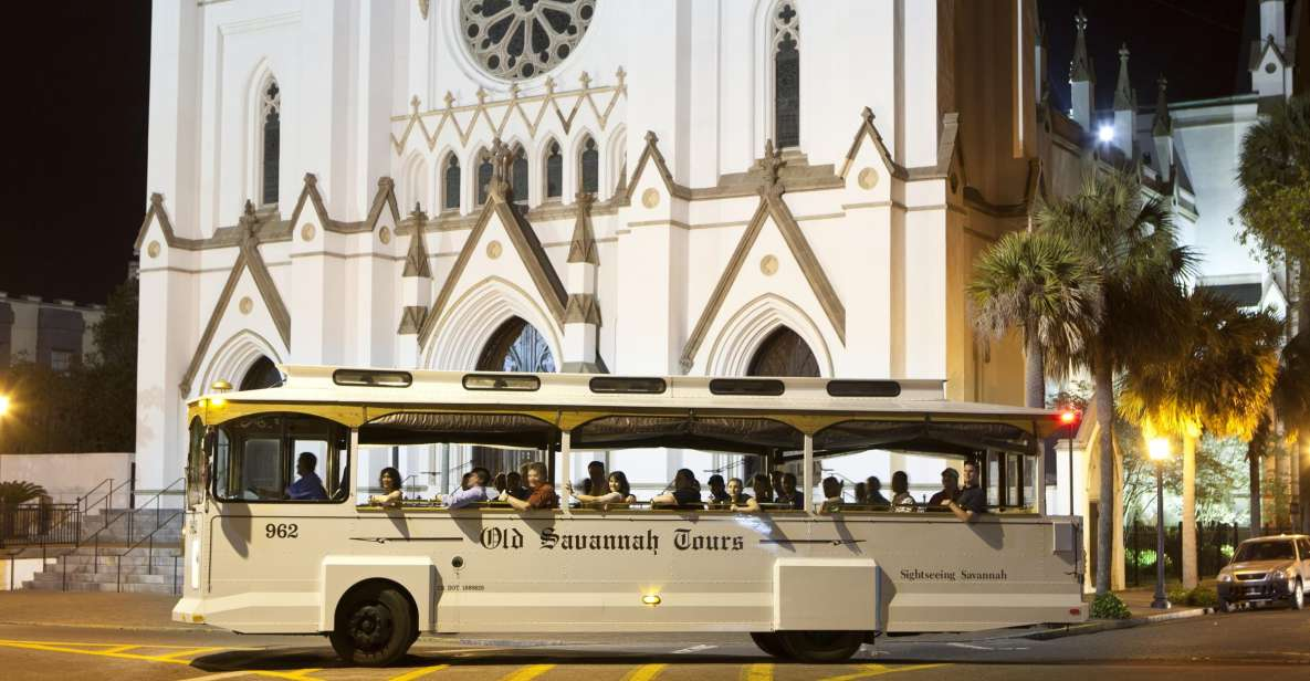 Savannah: Hop-On Hop-Off Historisk Trolley Tour