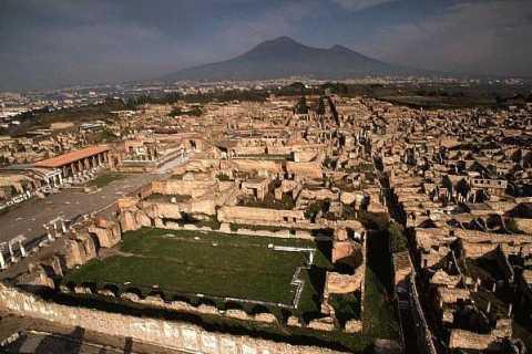 Desde Nápoles: tour panorámico por Pompeya y el Vesubio
