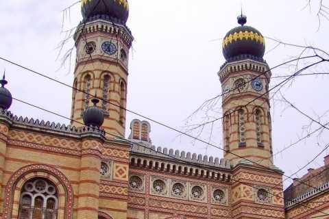 Grande visite d'une demi-journée du patrimoine juif à Budapest