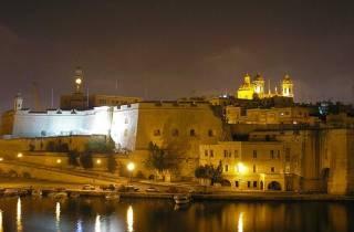Malta: Marsamxett-Hafen & Grand-Harbour-Kreuzfahrt bei Nacht