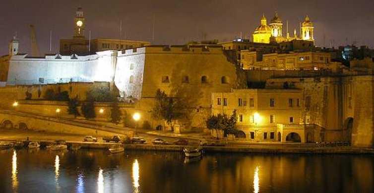 Malta: Kvällskryssning till Marsamxetthamnen & stora hamnen