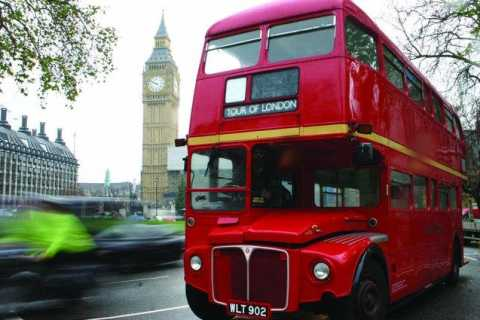 London Open-Top Bus Tour and Stonehenge Visit
