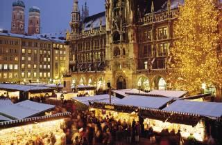 München: Tour über Weihnachtsmärkte und das Weihnachtsdorf