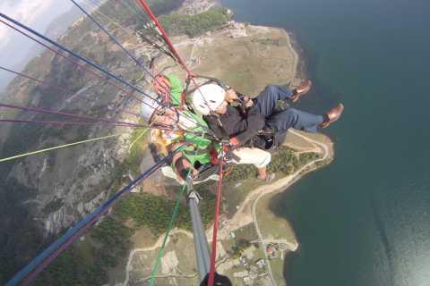 Tandem Paragliding in Pokhara