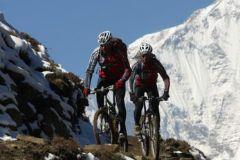 Kathmandu: de dia inteiro Mountain Bike tour