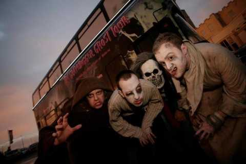 Dublin Gravedigger 2-Hour Ghost Bus Tour