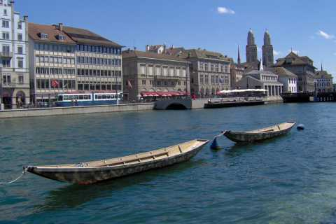 Discover Zurich Walking Tour in Russian
