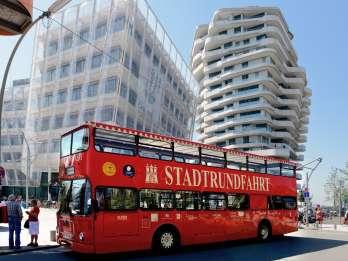 Hamburg: Sightseeing-Tour im Hop-On/Hop-Off-Bus der Linie A