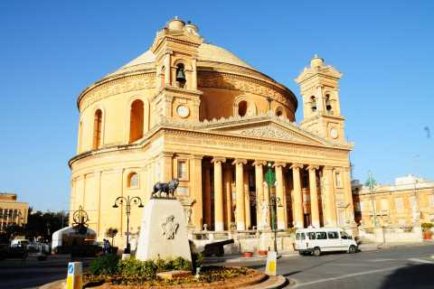 Half-Day Tour of Mosta, Ta'Qali Crafts Village & Mdina