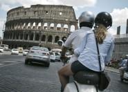 Rom: Halbtägige Vespa-Tour mit privatem Fahrer