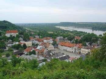 Von Warschau: Ganztägige private Tour durch Kazimierz Dolny Art Town