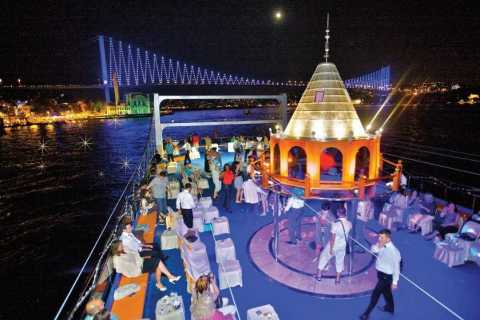 Bosphorus Dinner Cruise with Traditional Turkish Show