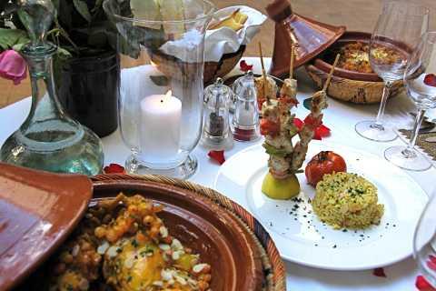 Marrakech: 3-Hour Open-Air Moroccan Cooking Course