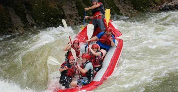 San Jose to La Fortuna: Rafting on the Sarapiquí River