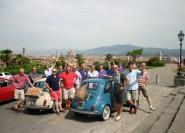 Florenz: 5-stündige Picknicktour im Fiat 500-Oldtimer