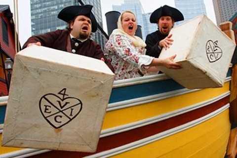 Boston Tea Party: interactieve tour schepen en museum