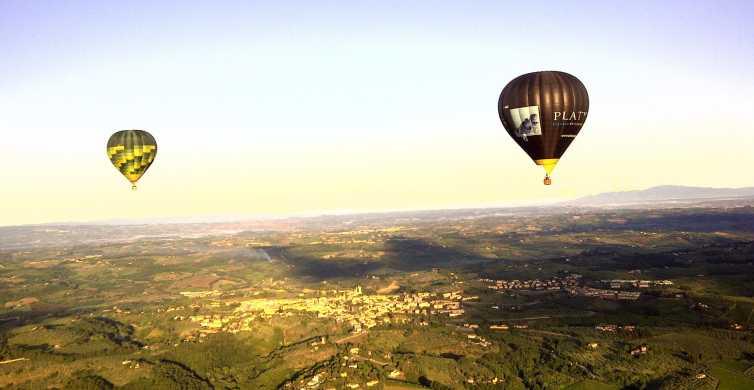 Balloon Flight Over Tuscany: Florence