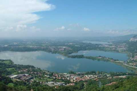 Die Seen der Lombardei: 7-tägige Radtour vom Gardasee
