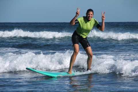 Gran Canaria: 5-timmars surfskola - inga förkunskaper krävs