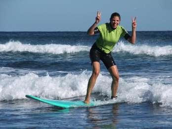 Playa del Inglés: 5 Stunden Surfkurs für Anfänger