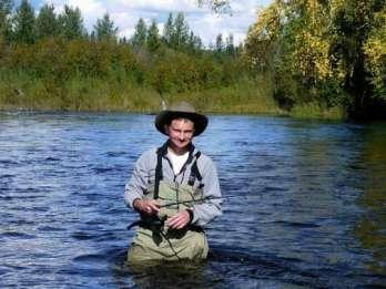 Von Fairbanks: Chena River Float Angeln ganz oder einen halben Tag