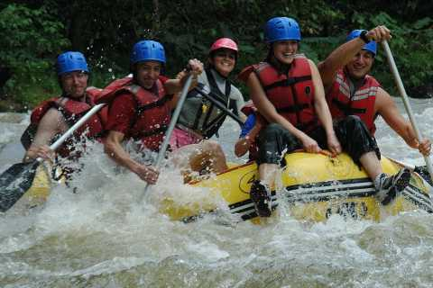 From La Fortuna: Zip-Line and Rafting Adventure