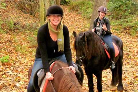Barcellona: giro a cavallo in un parco naturale