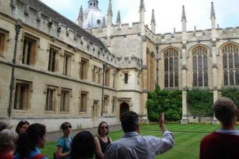 Oxford: University and City Walking Tour