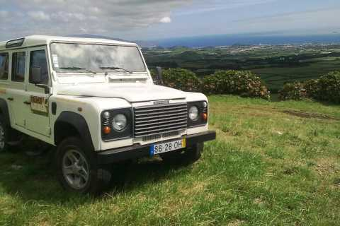 Sete Cidades Azores 4x4 Day Tour from Ponta Delgada