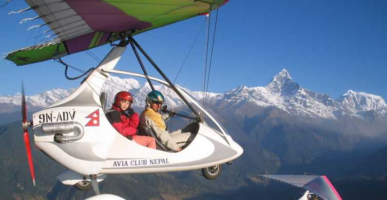1 Hour Ultra Light Flight in the Himalayas
