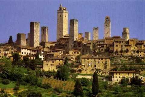 Private Shore Excursion to San Gimignano & Volterra
