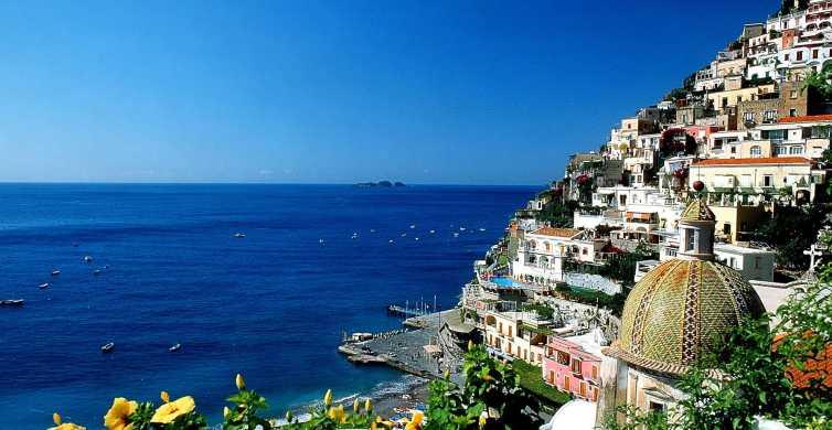 Pompei e Costiera Amalfitana: tour di 1 giorno da Roma