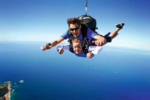 Sydney: Tandemsprung am Strand aus über 4.500 Metern Höhe