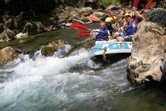 Rafting em corredeiras de dia inteiro no Köprülü Canyon