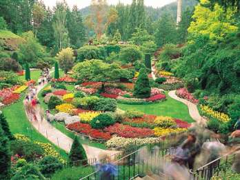 Ab Vancouver: Victoria City und Butchart Gardens