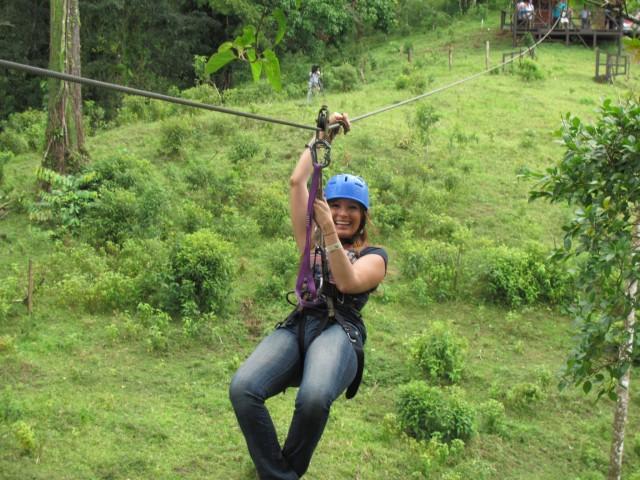 Rincon Vieja Volcano zipline en Hot Springs Day Tour
