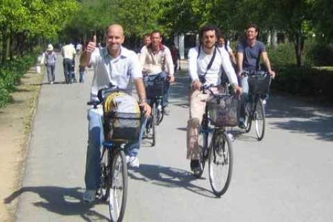 Sevilla: halve of hele dag fietstocht met audiobegeleiding