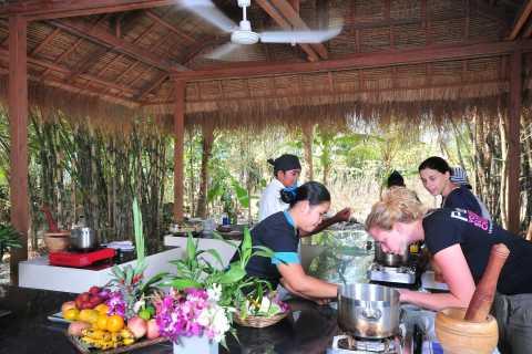 Clase de cocina camboyana de Siem Reap