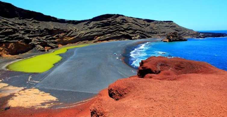 Vulkanen en grotten: dagtour over Lanzarote