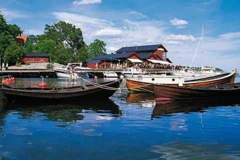 Båttur till Fjäderholmarna från Stockholm: Tur & retur