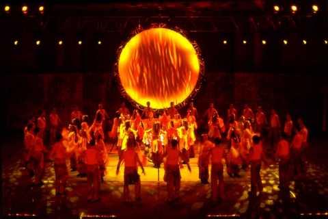 Show de dança Fogo da Anatólia na Arena Gloria Aspendos