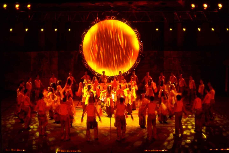 """Tanzshow """"Fire of Anatolia"""" in der Gloria Aspendos Arena"""