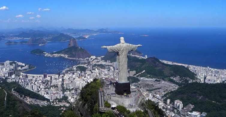 Rio: Maracanã-stadion og Kristusstatuen med tannhjulbane