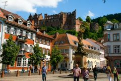 Heidelberg: excursão privativa de 3 horas com visita ao castelo